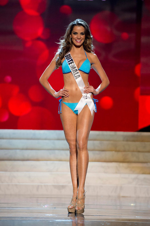 . Miss Guatemala 2012 Laura Godoy Calle competes during the Swimsuit Competition of the 2012 Miss Universe Presentation Show at PH Live in Las Vegas, Nevada December 13, 2012. The Miss Universe 2012 pageant will be held on December 19 at the Planet Hollywood Resort and Casino in Las Vegas. REUTERS/Darren Decker/Miss Universe Organization L.P/Handout