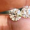 4.08ctw Old European Cut Diamond Pair, GIA I VS2, I SI1 15