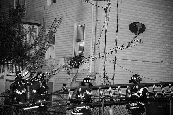 New Haven 11 Redfield St. Partition fire