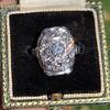 1.82ctw Diamond Cluster Ring 19