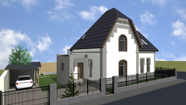Rekonstrukce  rodinného domu Praha