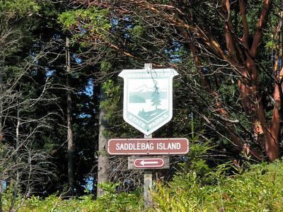 Saddlebag Island Overnight (August 2013)