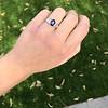 2.08ctw Sapphire and Diamond Ring, GIA No-Heat 31