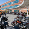 GOLDEN GATE HARLEY CLUB DELIVERS BACKPACKS TO SAN MATEO MEDICAL CENTER