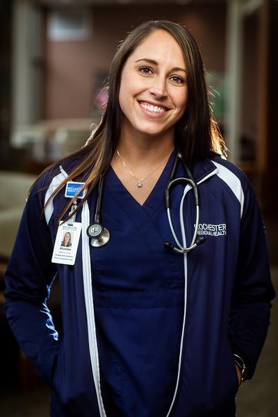 Rochester Regional Health - Nurse Portraits 2019
