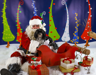 Deborah Frazier -Pet Pics with Santa