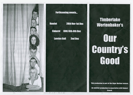 Our Country's Good poster