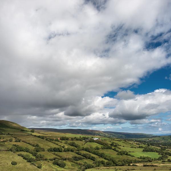 Landscape - Ballymena, Northern Ireland, UK - August 15, 2017