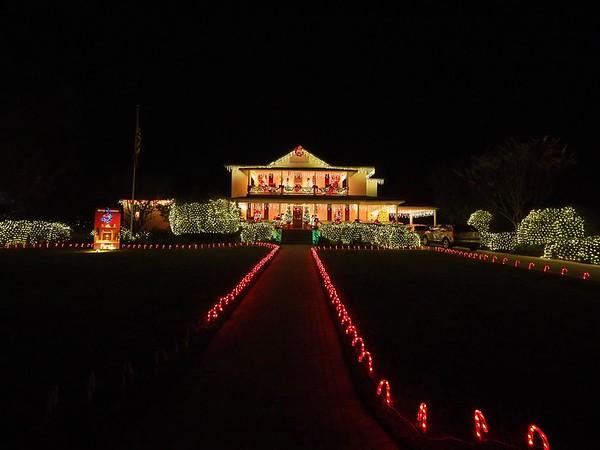 Dade City Christmas Lights 2017