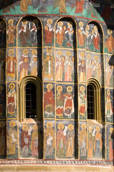 Sucevita Monastery, Sucevita, Moldavia, Romania