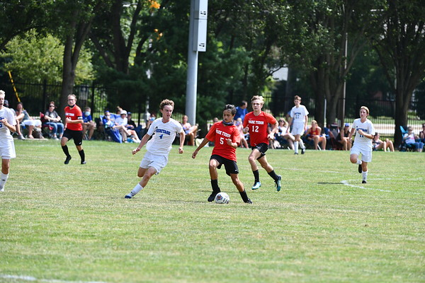 Boys JV Soccer v Heritage (8/29/2020)
