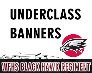 WFHS Underclass Banner Images