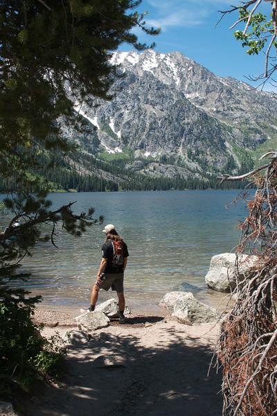Jenny Lake,  Teton National Park