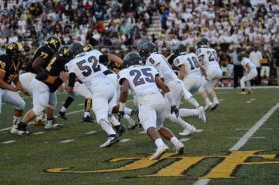 OE Varsity Football Vs Joliet West 2016