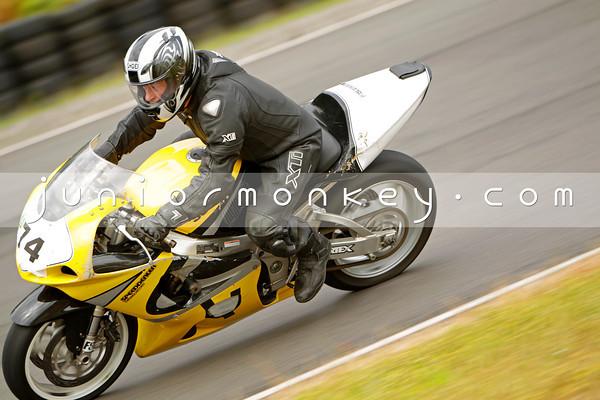 74 - Yellow GSXR