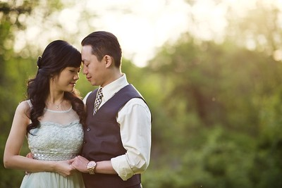 Stella + Thai's Engagement :: Tarrywile Park :: Danbury, CT