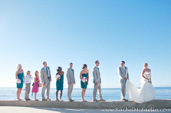 La Jolla Cove & Rooftop Wedding - RHT