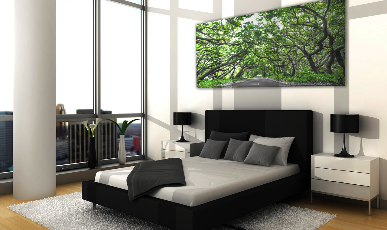 "$400    -    Canopy of Green    -    60"" x 30"" Gallery Wrap 1.5"" Canvas"