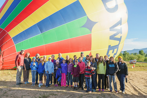 "June 12-16, 2017 ""Best of Colorado: Raft, Hot Air Balloon, and Ride Horses with Your Grandchild"" Shared Photos"