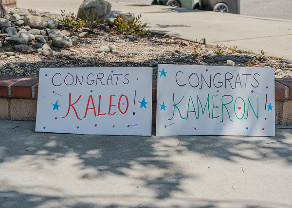 2020 Graduation - Kaleo and Kameron