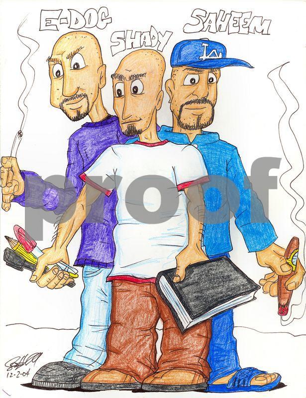 Saif Haddad's Cartoon Drawings