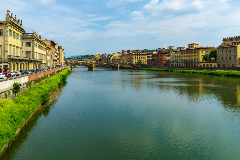 The Arno River in Florence