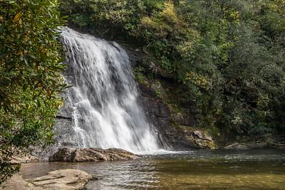 Silver Run Falls, North Carolina