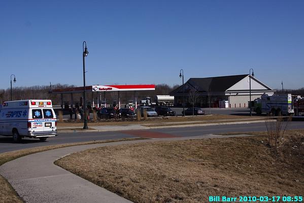Gasoline spill, Hazle Twp, Humbolt 3/17/10