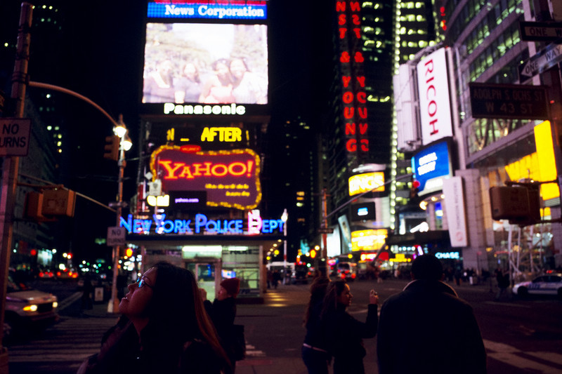 Times Square - Few places epitomize the big-city environment like Times Square, New York.