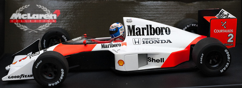 1989 #2 Mclaren Honda MP4/5 Alain Prost (Race Livery) SOLD 9/10/12