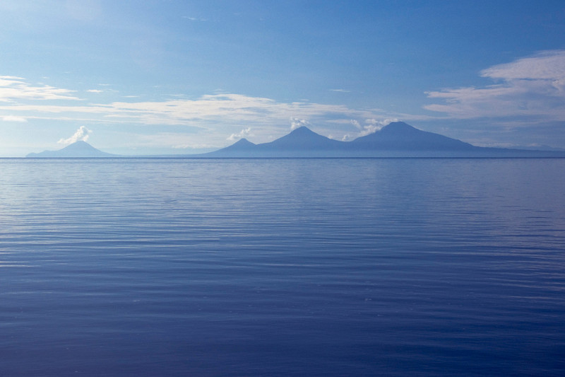 Volcanoes at Kimbe Bay - New Britain, Papua New Guinea