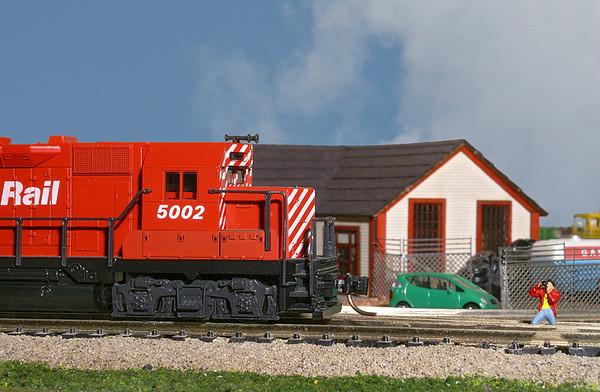 Model Train Macro Shots