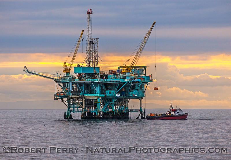 Offshore Oil Platforms & Misc. Vessels