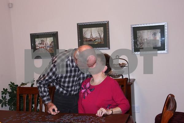 Maggie and Bernard Caton - February 2011