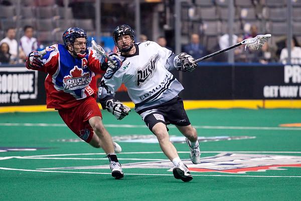 Edmonton Rush @ Toronto Rock 12 Feb 2010