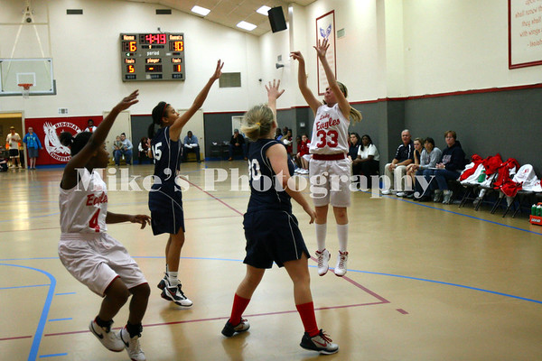 RCS Girls Basketball vs Warriors