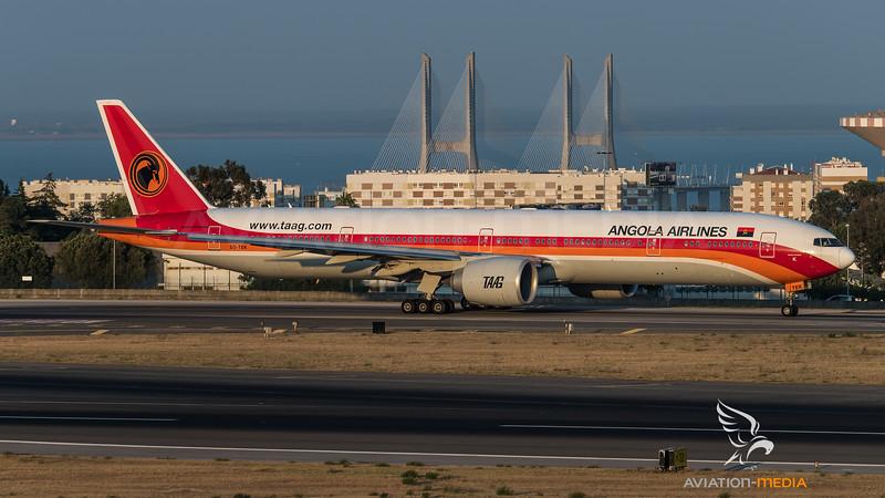 TAAG / Boeing B777-3M2(ER) / D2-TEK