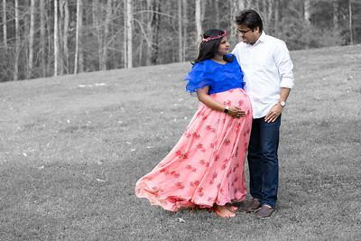 Mounika Maternity Shoot