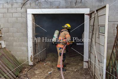20180103 - Unincorporated Mount Juliet - Barn Fire