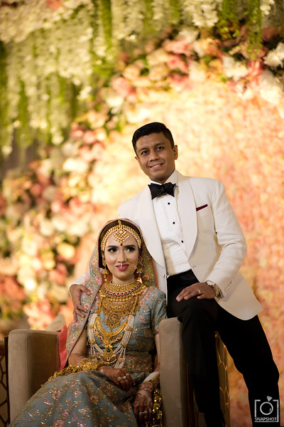 Tasfia & Mehran Reception