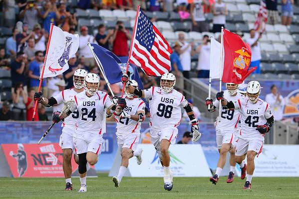 Canada vs USA, 7-19-14