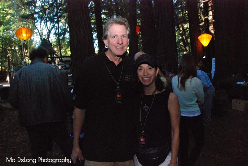 Gregg Gumbinger and Amy Garcia