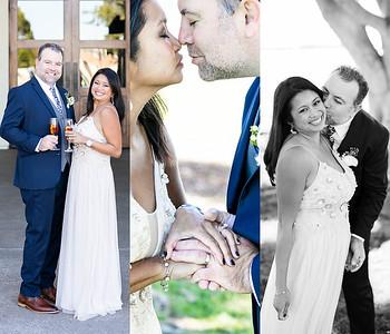 ALL  PHOTOS Tanya and Ben Wedding Photographs - park wedding on Harbor Island San Diego, reception Tom Ham's Lighthouse - December 2018
