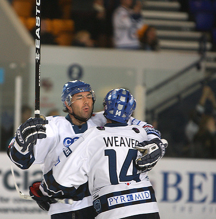 Blaze v Nottingham Panthers - 03/12/2010