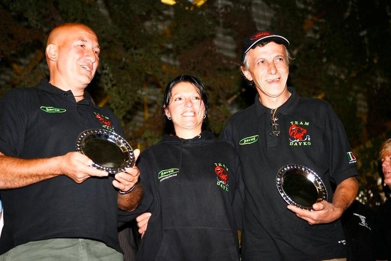 WCC08-leoneric-Silvano Promio & Mauro Ubezio. Winners Carps cabin section