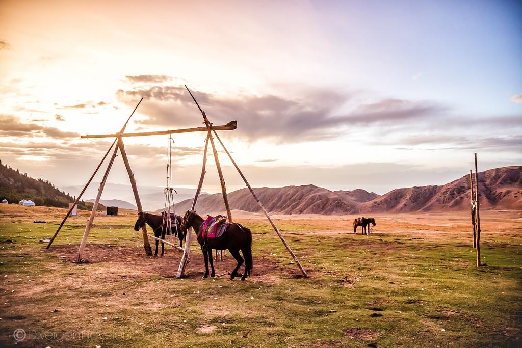 Kyrgyzstan Photos: Shatyly Sunset Horse Trek Bokonbayevo