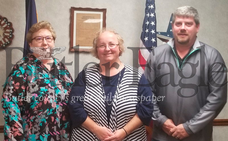 Linda Moore, Heather Krenn, and Christopher Todd Simmons are new Harrisville appointments