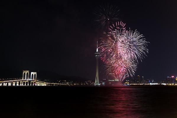 2014-09-20 Macau Fireworks