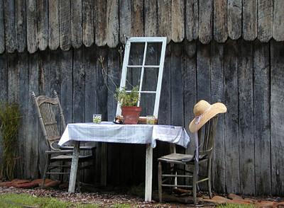One of Jackie's sweet displays Erin's Meadow Herb Farm Clinton, TN 6/20/07