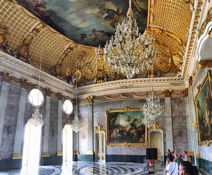 Sans Souci - the new palace